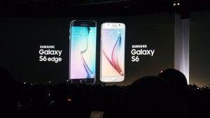 Les nouveaux Galaxy S6.