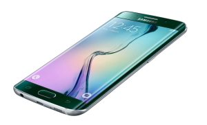 Samsung Galaxy S6 Edge.
