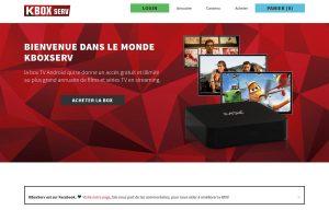 KBoxServ: un paiemetn unique de 149 francs pour 15'000 films.