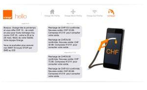 Orange offre jusqu'à ce soir dix francs pour toute recharge dès 20 francs.
