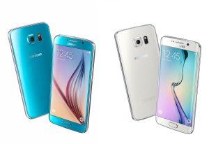 Les Samsung Galaxy S6 et Galaxy S6 Edge.