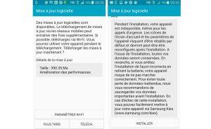 Galaxy S5: première mise à jour après le passage sur Android 5.0.