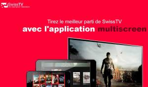 SwissTV met à jour son application pour iOS.