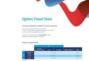 Swisscom Option Travel Voice.