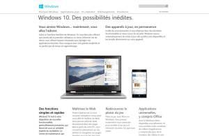 Windows 10: un écosystème redoutable du mobile au PC...