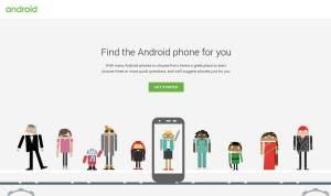 Un comparateur pour choisir son futur smartphone boosté par Android.