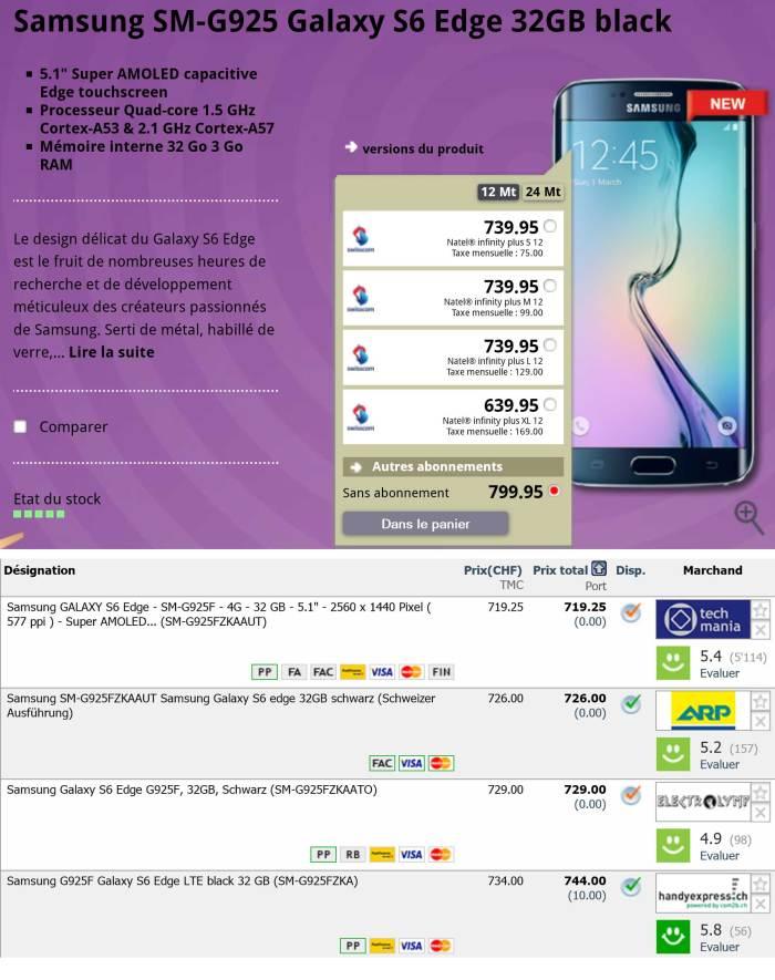Avec ou sans abonnements, les appareils Swisscom-Mobilezone sont chers.