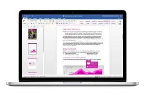 Office 2016 pour Mac.