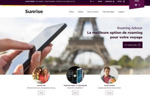 "Sunrise propose un ""Roaming Advisor""."
