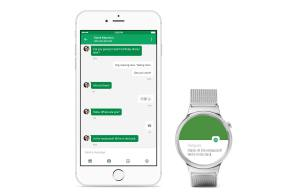 Android Wear pour l'iPhone.
