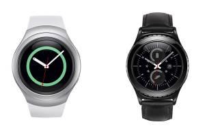 Les Samsung Gear S2 et Gear S2 Classic.