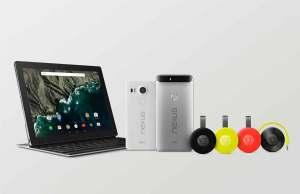 La nouvelle collection Nexus de Google.