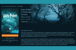 Potter: une exclusivité numérique pour Apple.