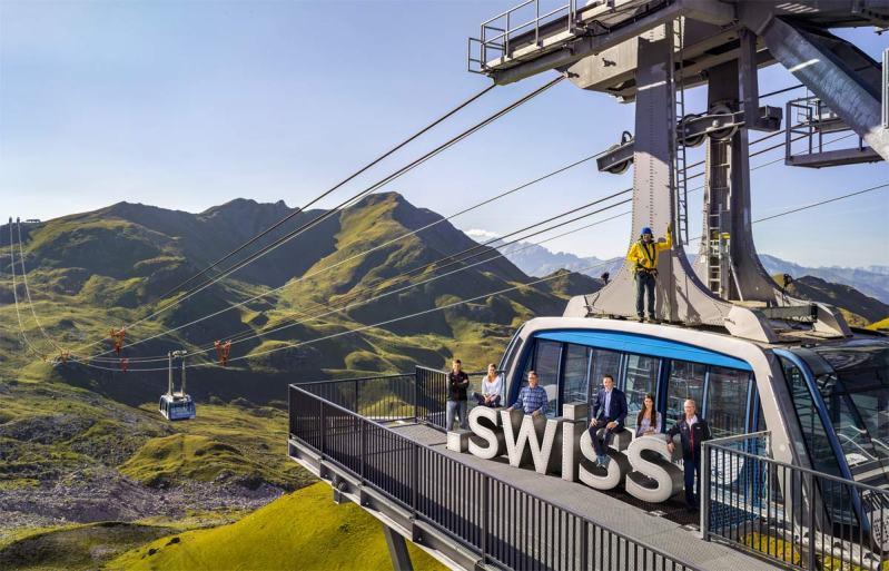 Le «.swiss» s'invite dans la région d'Arosa.