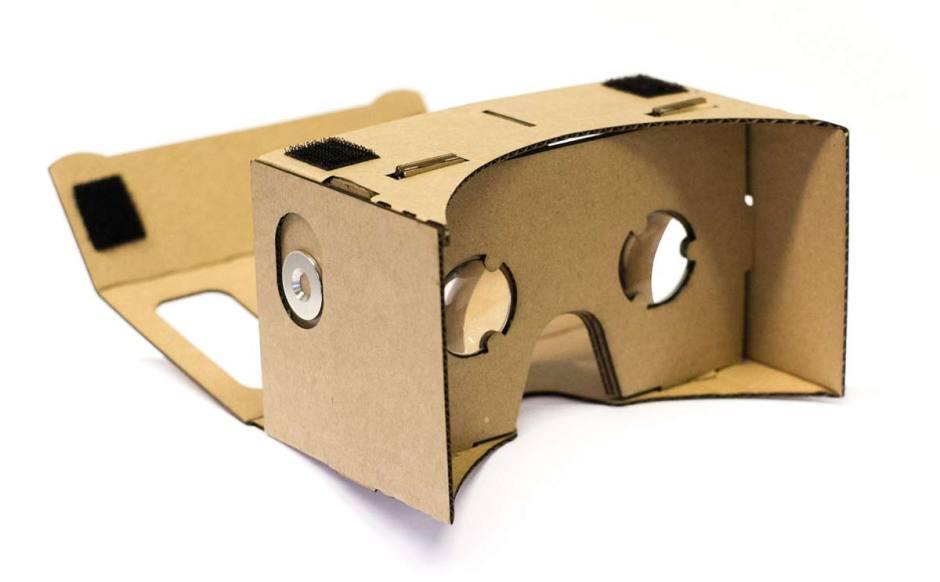 Des Google Cardboards.