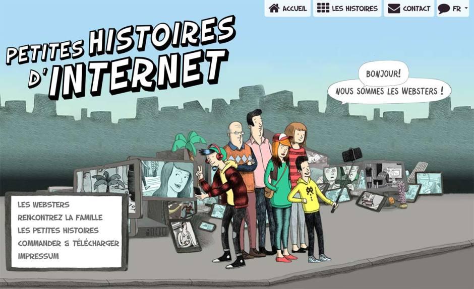 Les dangers de l'internet présentés de manière ludique.
