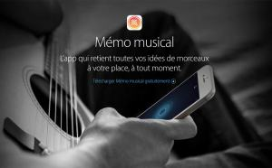 «Memo muscical» par Apple.