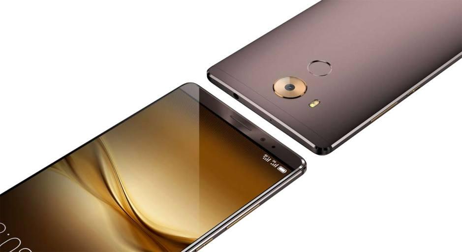Le Huawei Mate 8.
