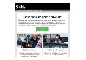 Salt propose désormais Plus Start à moitié prix.