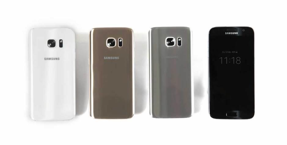 Samsung Galaxy S7 et Galaxy S7 edge.