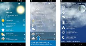 La grande bataille suisse des applications météo