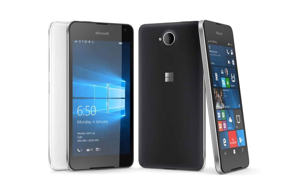 Microsoft Lumia 650.