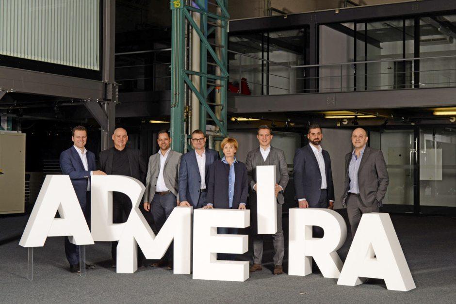 L'équipe d'Admeira.