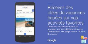 Google Destination.