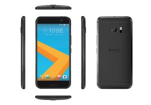 "Le HTC 10 ""carbon gray""."