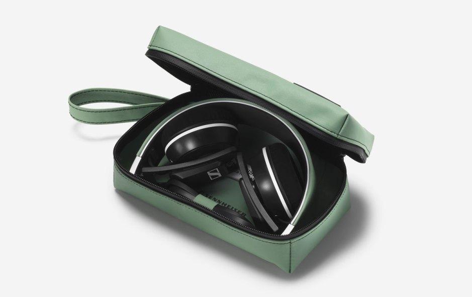 Le casque audio Sennheiser au design Freitag! Photo: Oliver Nanzig