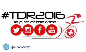 Suivez le Tour de Romandie 2016 sur les réseaux sociaux.