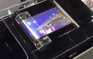 Samsung présente un écran couleur enroulable