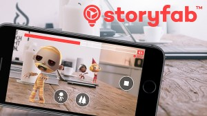 Réalité augmentée: l'application Storyfab pour réaliser vos films en quelques minutes