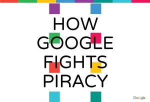 """""""Commen Google combat la piraterie""""."""