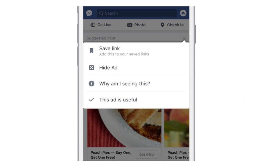 Facebook combat le lucratif marché du blocage de publicité.