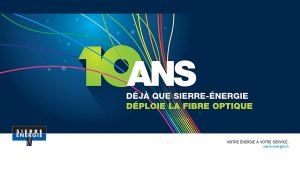 Dix ans de fibre optique à Sierre.