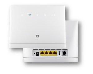 Le modem Huawei B315 proposé chez Yallo.
