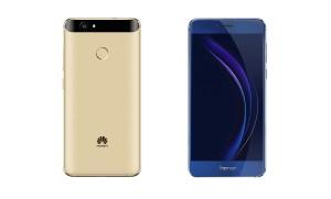 Le Huawei Nova, à gauche, vs le Honor 8, du même constructeur.