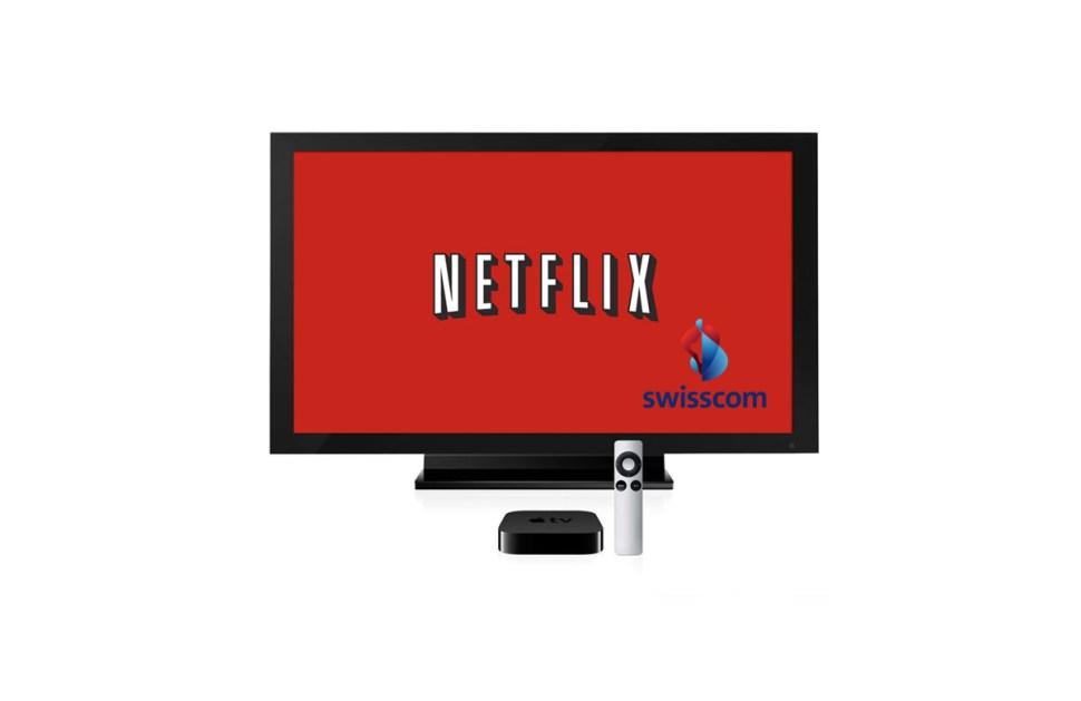 Netflix débarque en 4K sur Swisscom TV.
