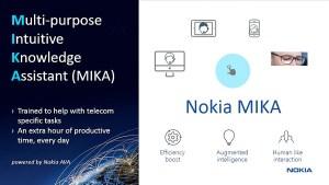 Après Hal dans «2001, l'odyssée de l'espace», voici Mika de Nokia!