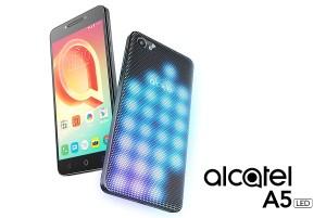 #MWC17: Alcatel lance un smartphone avec un dos couvert de LED!