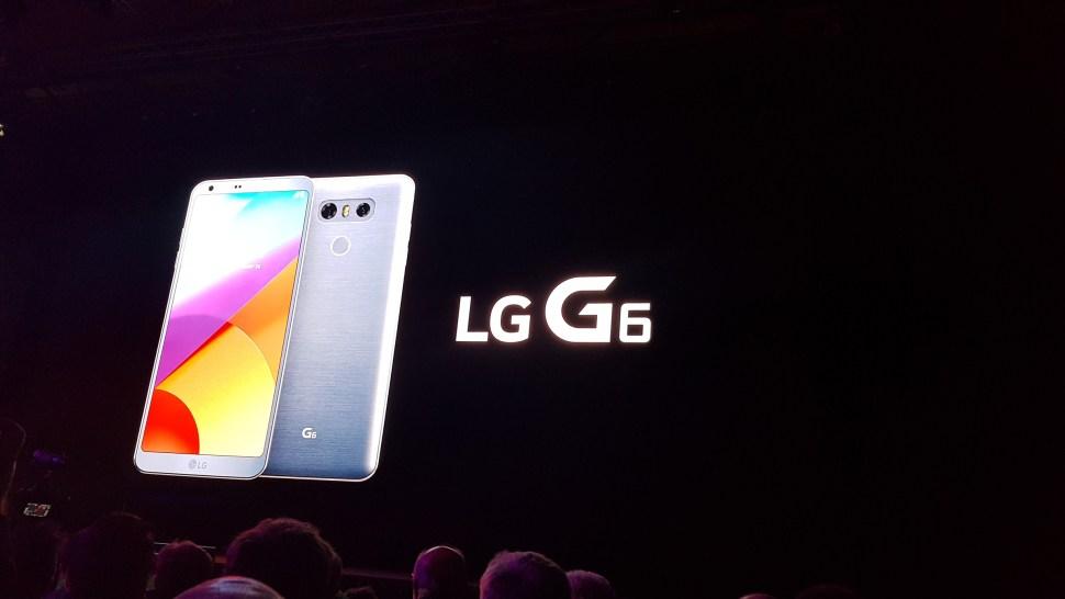 Le LG G6 a été dévoilé en février lors du MWC 2017 de Barcelone.
