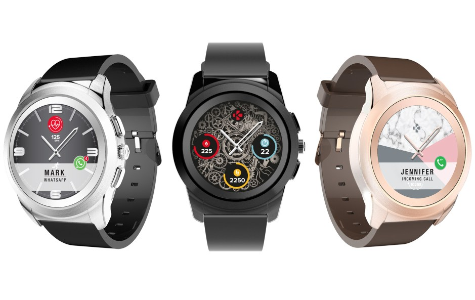 MyKronoz dévoile ZeTime: une montre connectée à écran TFD rehaussé d'aiguilles traditionnelles.