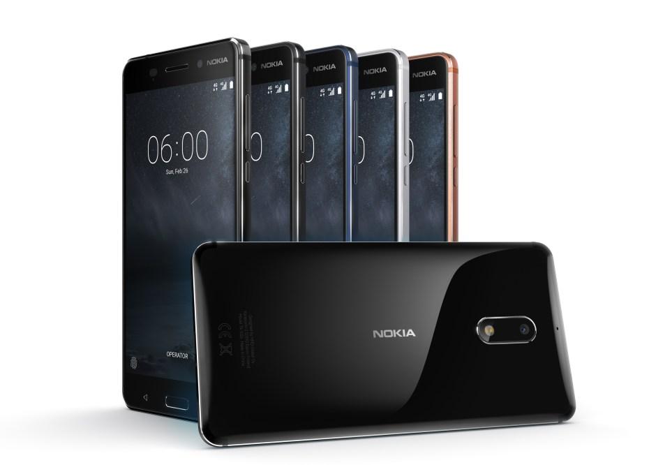 Nokia 6 en aluminium: écran de 5,5 pouces, Android 7.1.1 dès 229 euros. Edition Arte Black à 299 euros.