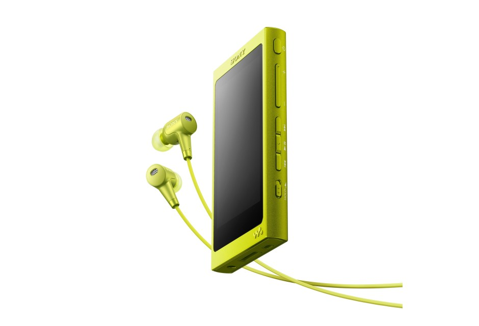 Le Walkman Sony NW-A35.