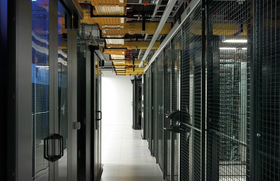 Un centre d'interconnexion et de données d'Equinix à Zurich.