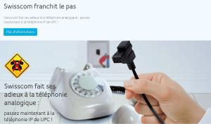 Comment UPC essaie de ridiculiser la douloureuse numérisation de Swisscom!