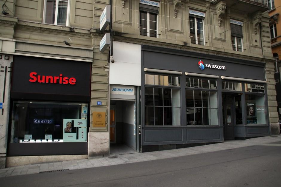 Sunrise grignote des parts de marché sur certains segments des télécoms helvétiques.