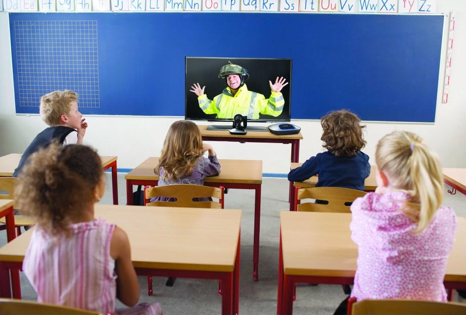 Une représentation de l'école, selon Logitech.