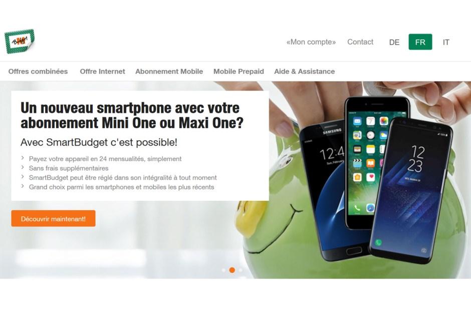 L'ogre bleu et le géant Orange soignent M-Budget Mobile.